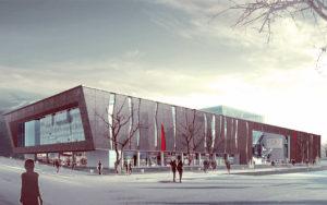 Museum architectural design
