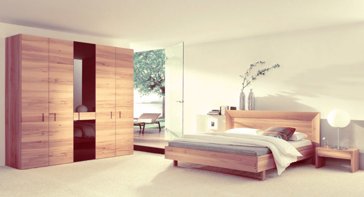Custom bedroom furnishings