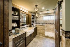 custom bathroom remodeling and design showroom RI