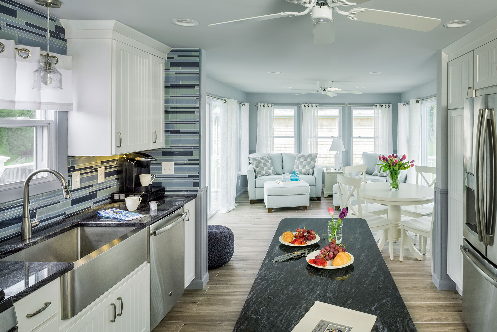 Home Building Designs by Exodus Construction - luxury coastal homes builder South County RI