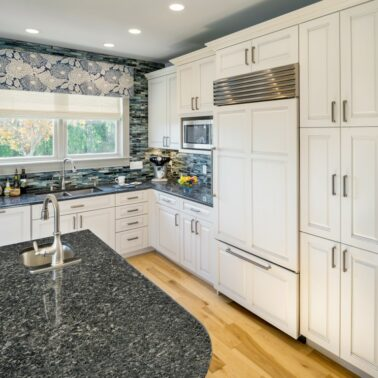 kitchen remodels - Custom center island counter top