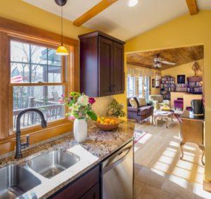 Kitchen Remodeling - Custom light fixture over sink
