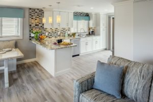 Kitchen Remodeling - Custom wood flooring - Exodus Construction - luxury coastal homes builder South County RI