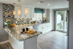 Kitchen Remodeling - custom tile backsplash