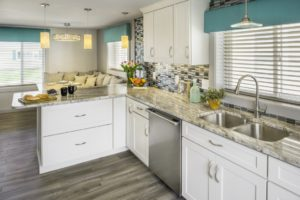 Kitchen Remodeling - Custom countertops - Exodus Construction - luxury coastal homes builder South County RI