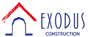 Exodus Construction Logo - Exodus Construction - luxury coastal homes builder South County RI