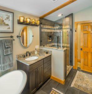 Bathroom Remodel - Custom vanity countertop