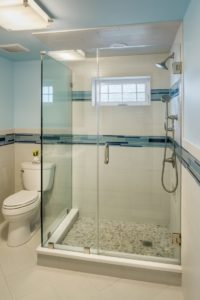 Bathroom Remodel - Glass shower enclosures RI