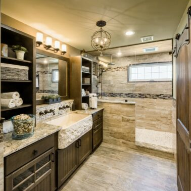 Bathroom Remodeling in RI - by Exodus Construction - luxury coastal homes builder South County RI