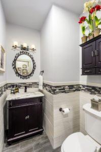 Bathroom Remodel - Custom tile flooring