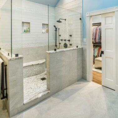 Bathroom Remodel - Custom shower enclosure designs