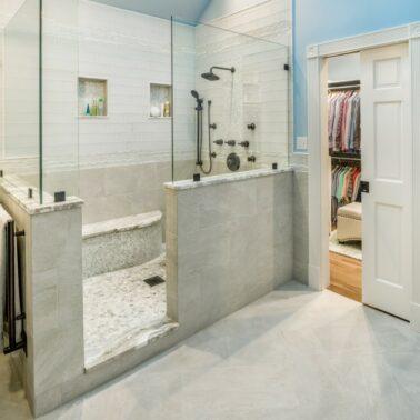 Bathroom Remodel - Custom shower enclosure designs