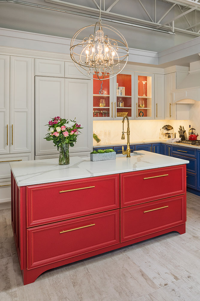 Customized cabinets and fixtures - Exodus Construction - luxury coastal homes builder South County RI