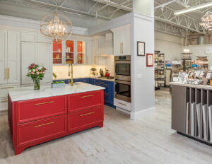 Custom home design boutique showroom in Southern RI. Get finishes for a remodel for one room or finishes for new construction for the whole house; whether you are a homeowner, builder or designer.